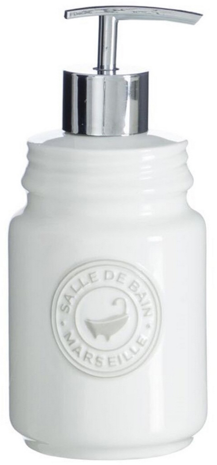 Дозатор для жидкого мыла Marseille 350мл белый