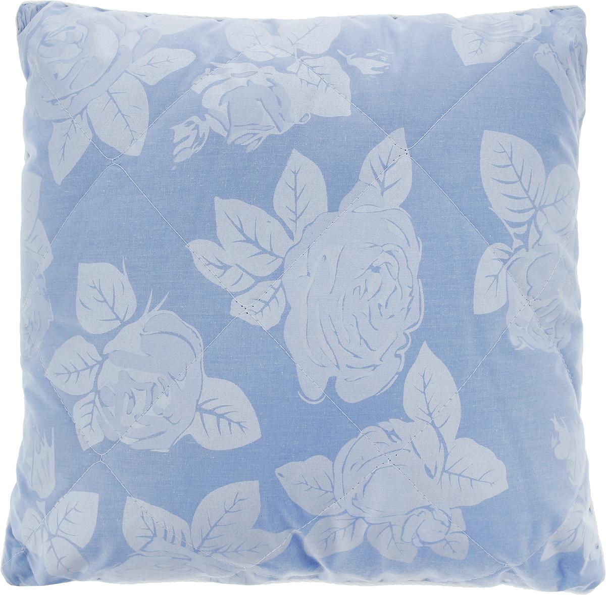Подушка Bio-Teхtiles Сила природы, наполнитель: лузга гречихи, цвет: голубой, 40 х 40 смSPC521