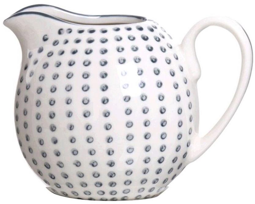 Молочник DCasa Topos, цвет: белый, 250 мл285305Элегантный молочник DCasa, выполненный из высококачественной керамики с глазурованным покрытием, предназначен для подачи сливок, соуса и молока. Изящный, но в тоже время простой дизайн молочника, станет прекрасным украшением стола.
