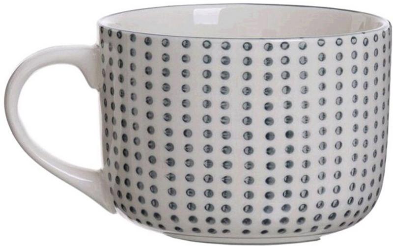 """Кружка """"Topos"""" 600мл  рассчитана на интенсивное использование. Посуда характеризуется утолщенными стенками, что придает ей прочность и позволяет избежать сколов. Форма и размер кружки позволяют использовать ее для подачи бульонов, супов-пюре и заправочных супов."""