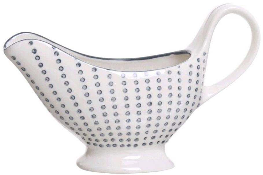 Соусник Topos изготовлен из качественной керамики. Элегантный дизайн придаст изысканность любой трапезе. Изделие придется по вкусу и ценителям классики, и тем, кто предпочитает утонченность и изящность.