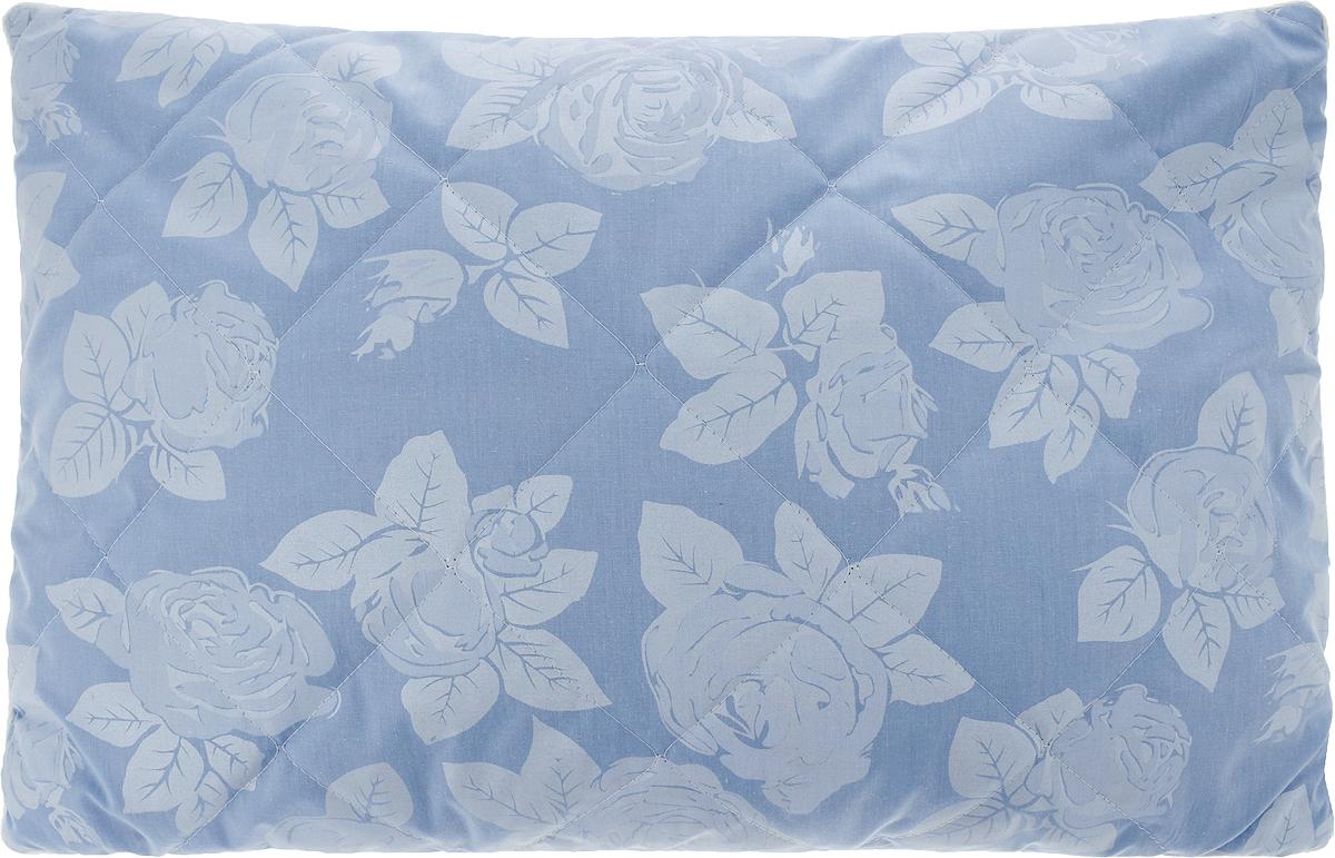 Подушка Bio-Teхtiles Очарование, наполнитель: искусственный лебяжий пух, цвет: голубой, 40 х 60 смSPC620