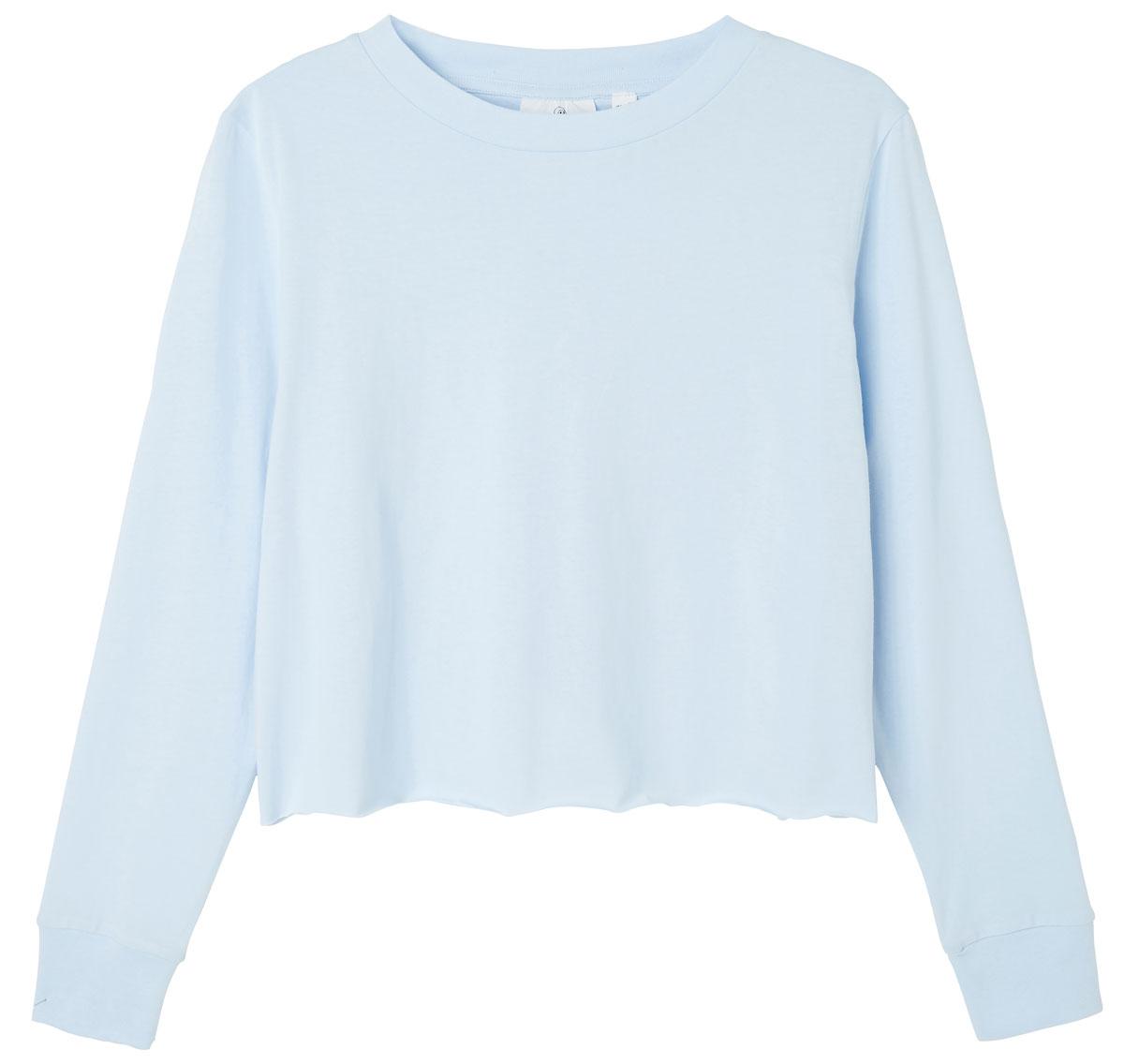 Лонгслив женский Cheap Monday, цвет: голубой. 0556613. Размер S (42) цена 2017