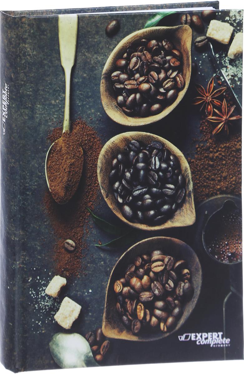 Expert Complete Ежедневник Coffee недатированный 288 листов цвет черный темно-коричневый бежевый формат A5 maestro de tiempo ежедневник novela недатированный 288 листов цвет темно серый формат a5