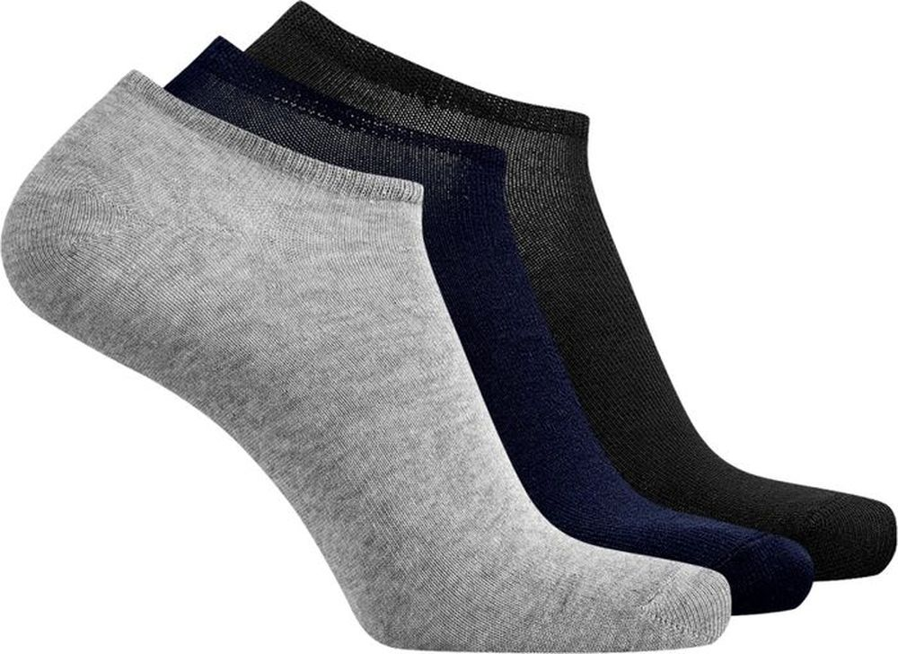 Носки мужские oodji Basic, цвет: разноцветный, 3 пары. 7B231000T3/47469. Размер 40/43 jd коллекция светло телесный 12 пар носков 15d две кости размер