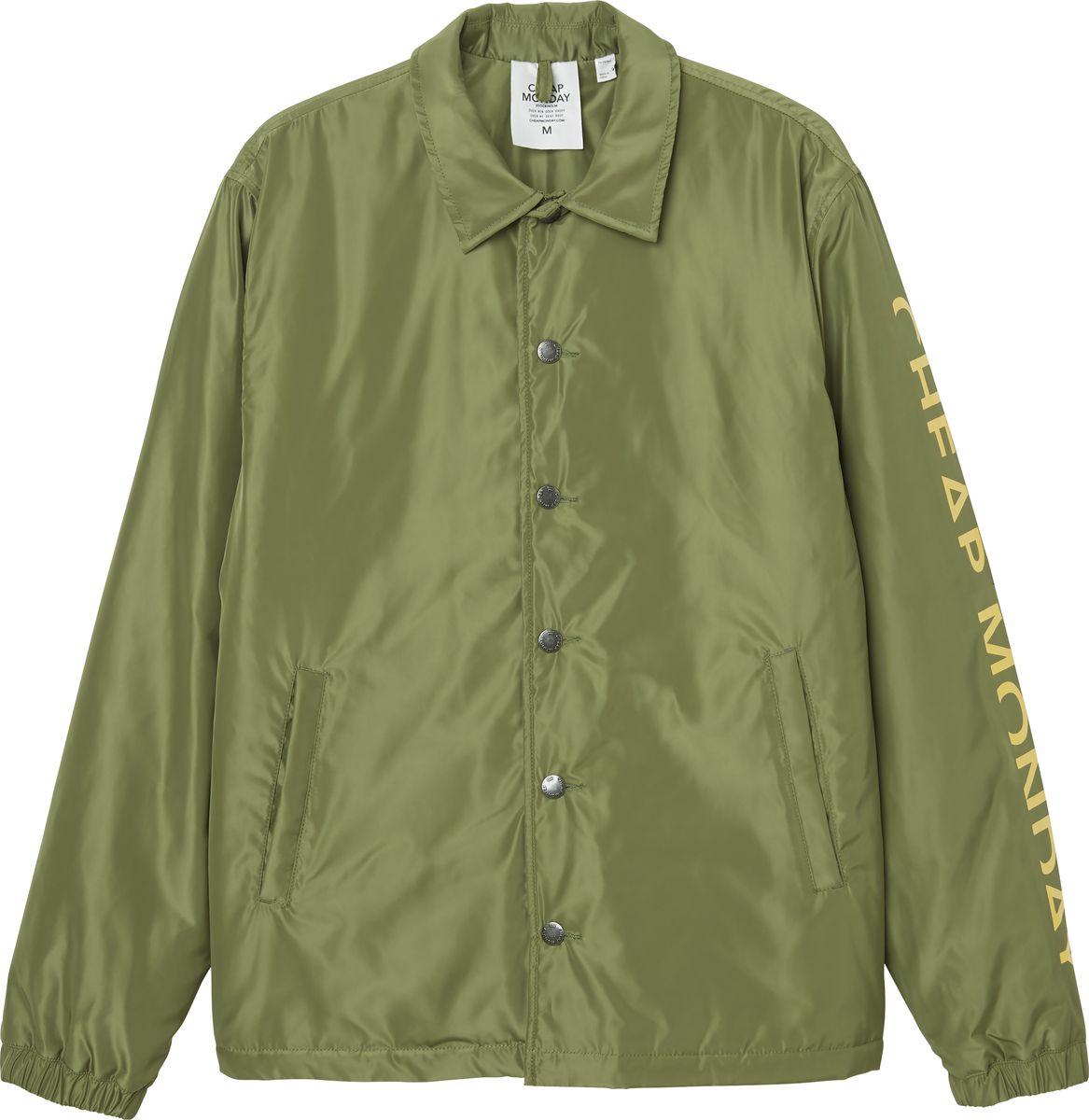 Куртка мужская Cheap Monday, цвет: оливковый. 0526819. Размер XL (52) куртка утепленная cheap monday cheap monday ch839emwwj95
