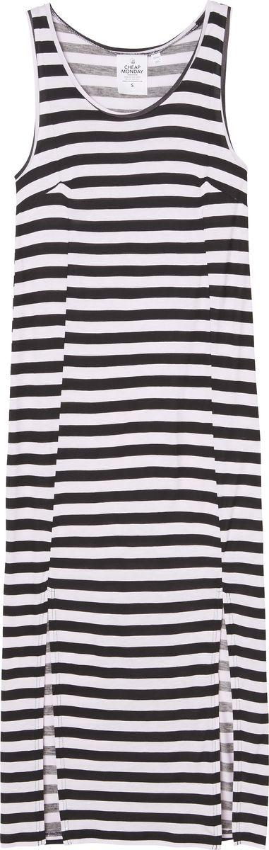 Платье Cheap Monday, цвет: белый, черный. 0515829. Размер XS (40)