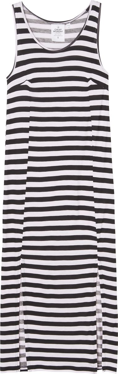 Платье Cheap Monday, цвет: белый, черный. 0515829. Размер XS (40) cheap monday шарф