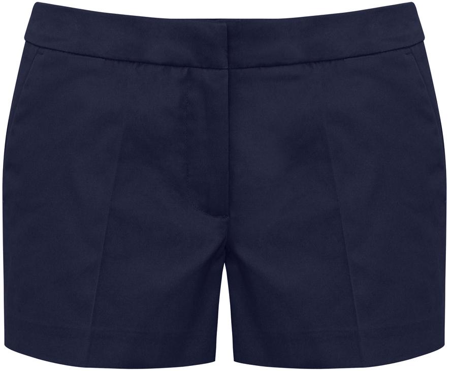 Шорты женские oodji Ultra, цвет: темно-синий. 11801093-1/14522/7900N. Размер 42 (48-170) шорты женские roxy цвет синий erjns03135 btk0 размер xs 40