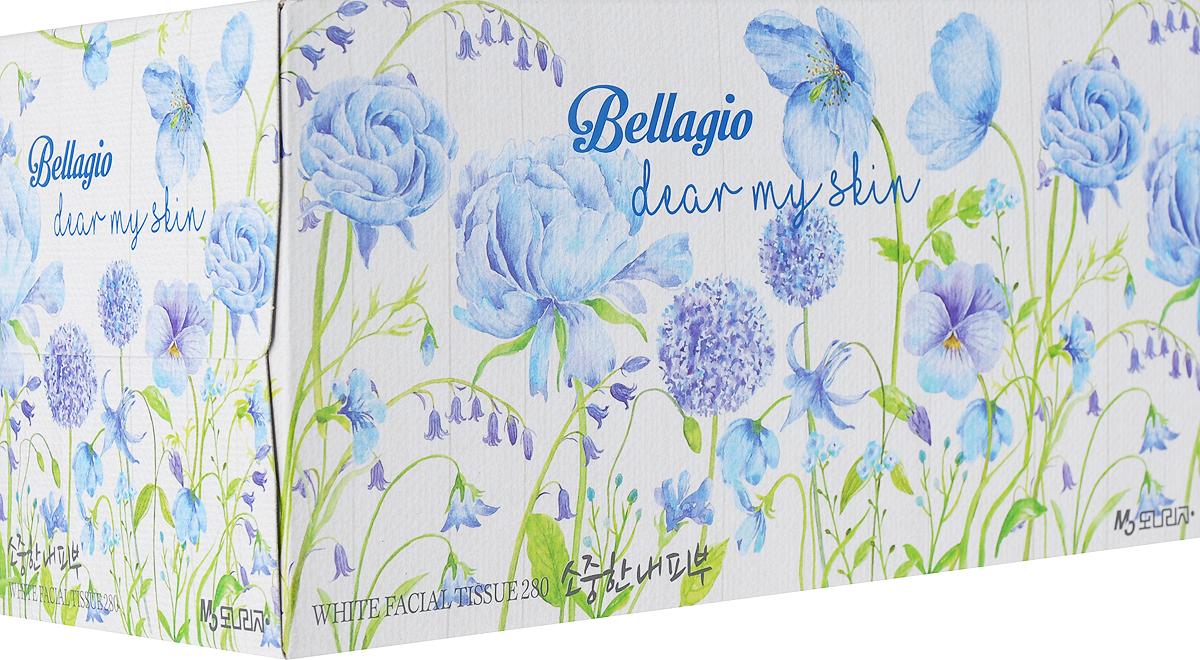 Салфетки для лица Monalisa, цвет упаковки: голубой, 280 шт carefree carefree салфетки plus large fresh ароматизированные 36 шт