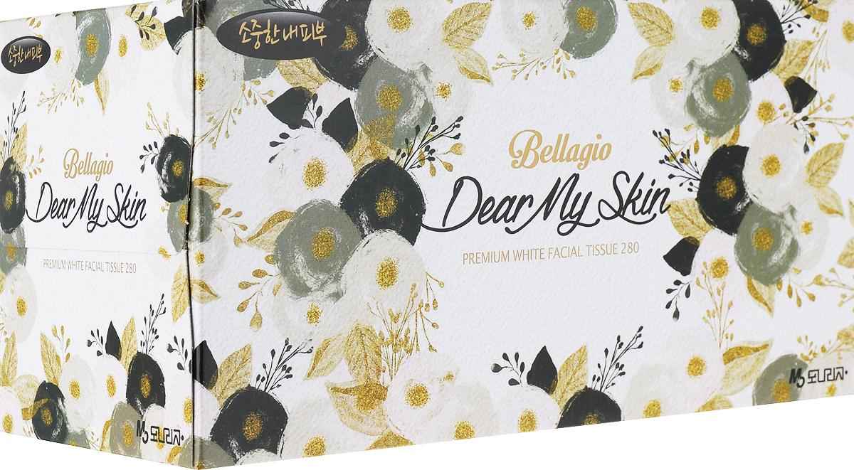 """Салфетки для лица """"Monalisa"""", цвет упаковки: черный, 280 шт"""