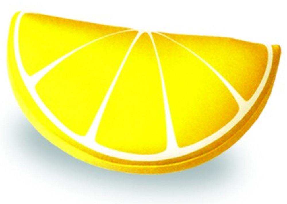 Подушка-долька антистрессовая Штучки, к которым тянутся ручки Фрукты. Лимон, цвет: желтый, 30 x 20 см13аспд01ив-3Антистрессовая подушка из эластичного трикотажа с наполнителем из вспененного полистирола. Мягкий и приятный на ощупь материал, наполнитель вспененный полистирол - абсолютно безопасный и гипоаллергенный. Подушка - антистресс станет идеальным подарком для любого вашего знакомого, независимо от возраста! Размер 30*20 см.