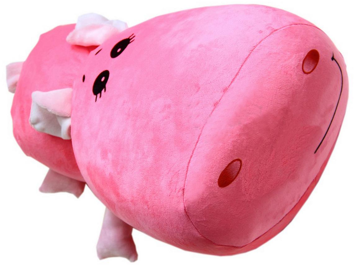 Подушка-валик антистрессовая Штучки, к которым тянутся ручки Валотап. Свинка, цвет: розовый, 35 x 35 см15асв02ив-1Антистрессовая подушка из велюровой ткани с наполнителем из вспененного полистирола. Мягкий и приятный на ощупь материал, наполнитель вспененный полистирол - абсолютно безопасный и гипоаллергенный. Подушка - антистресс станет идеальным подарком для любого вашего знакомого, независимо от возраста!Размер 35*35 см.