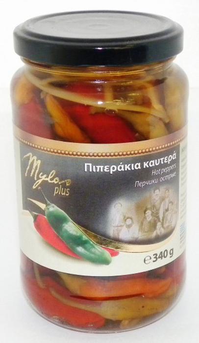 Mylos plus Перчики острые (красный и зеленый), 0,37 л mylos plus перец красный жареный 0 5 л
