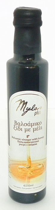 Mylos Plus Уксус Бальзамический с мёдом, 0,25 л kuhne aceto balsamico di modena уксус бальзамический 500 мл
