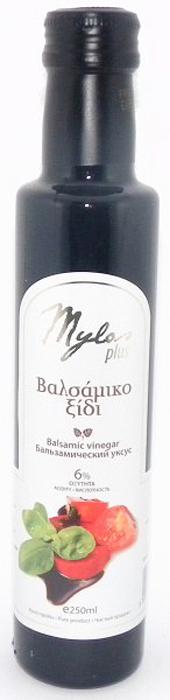Данный бальзамический уксус уникален тем, что он сделан из винограда, растущего в Греции, на острове Крит, в местечке Милопотамос. Обладает особым ароматом и сбалансированным кисло-сладким вкусом.