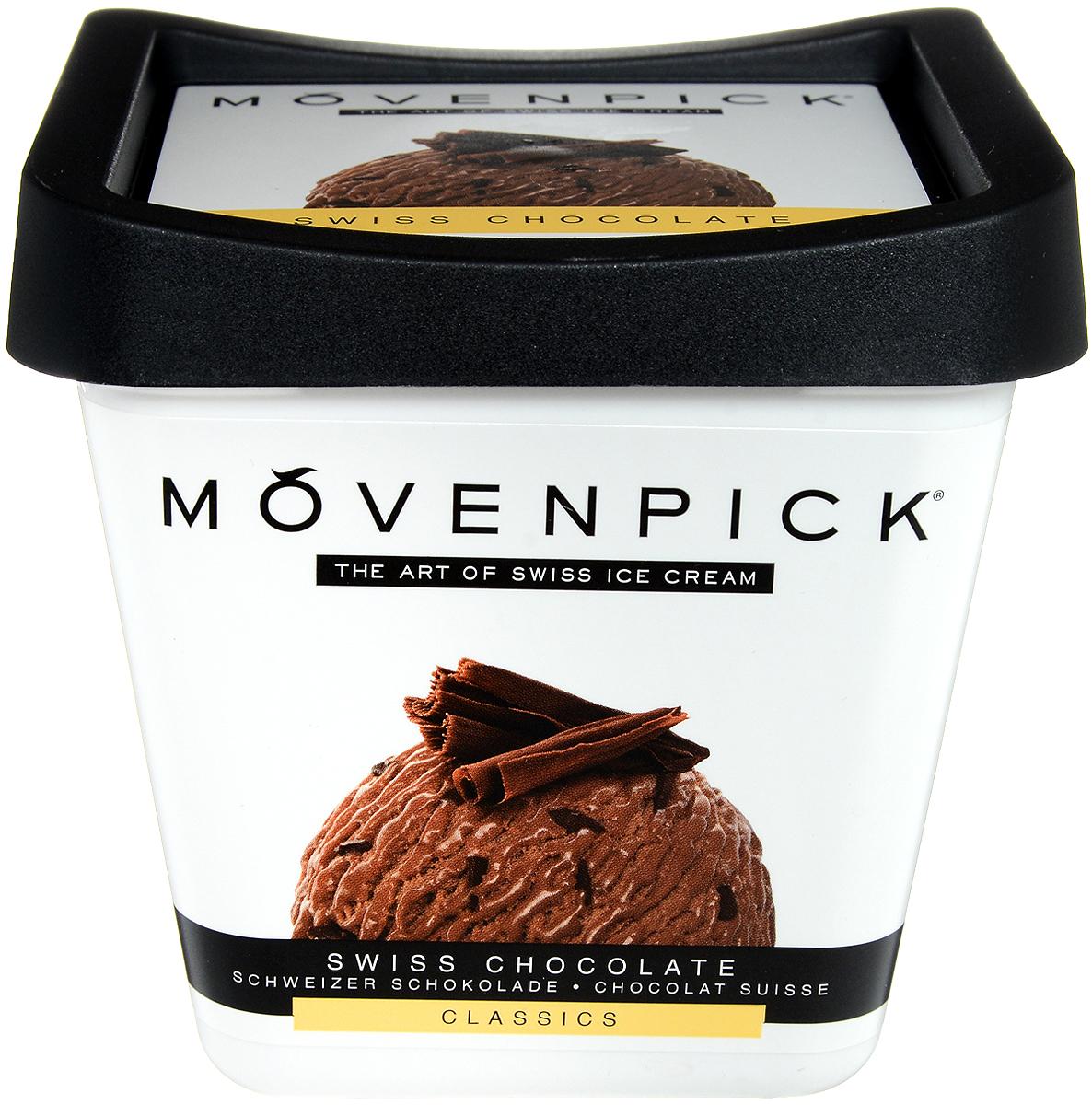 Movenpick Мороженое Шоколад, 500 мл movenpick мороженое фисташковое 900 мл