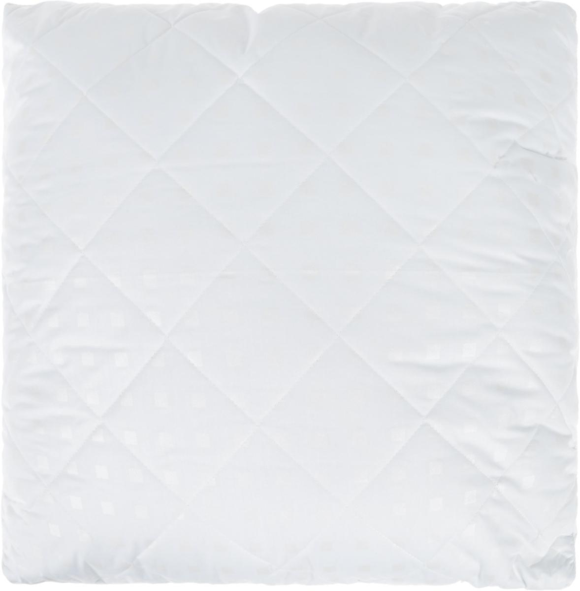 Подушка Bio-Teхtiles Очарование, наполнитель: искусственный лебяжий пух, цвет: белый, 70 х 70 смSPC606