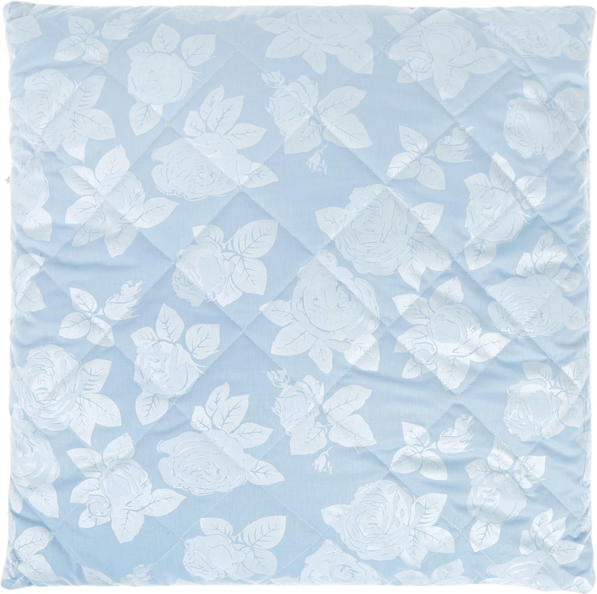 Подушка Bio-Teхtiles Сила природы, наполнитель: лузга гречихи, цвет: голубой, 70 х 70 смSPC552
