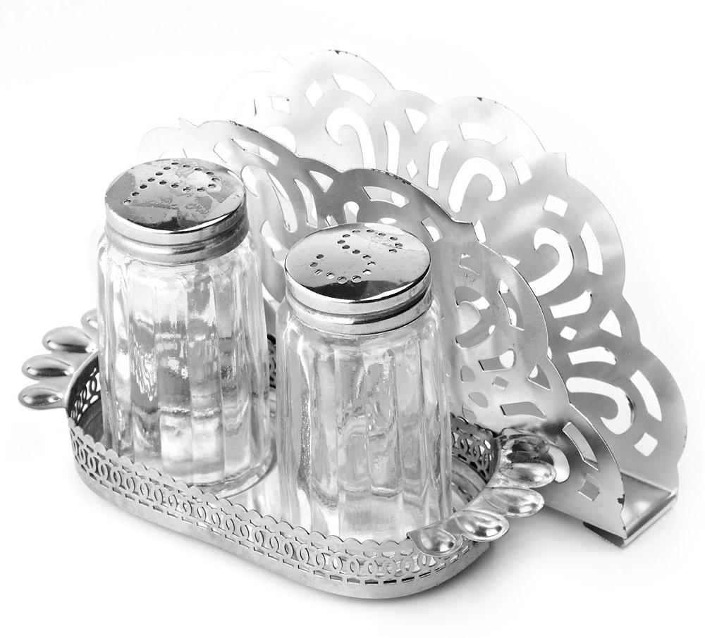 Набор для специй ENS Group, с салфетницей на подставке, 3 предмета. 0190164 подставка под ложку ens group чайная роза