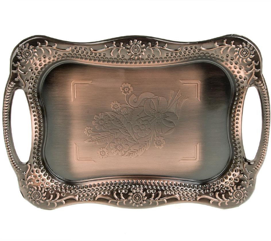 """Поднос """"BHK"""" станет идеальным и незаменимым предметом сервировки для праздничного стола! Каждое изделие сочетает в себе оригинальность и неповторимость. Мыть в мыльной тёплой воде."""