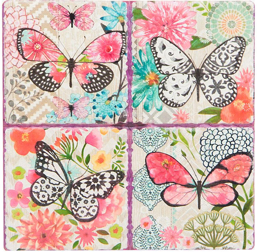 Подставка под горячее ENS Group Бабочки, диметр 16 см. 4730121 ens group подставка под ложку flower 22 см
