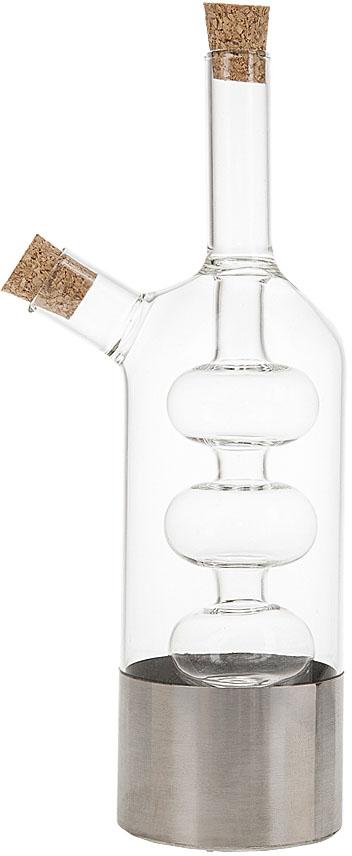 """Оригинальным дополнением любой кухни и праздничного стола, станет бутылка для масла и уксуса """"Best Home Kitchen"""".  Бутылка представляет собой 2 сосуда, находящиеся один в другом, благодаря этому при заполнени контрасными по цвету жидкостями,ее можно считать предметом декора, а не просто кухонным инвентарем."""