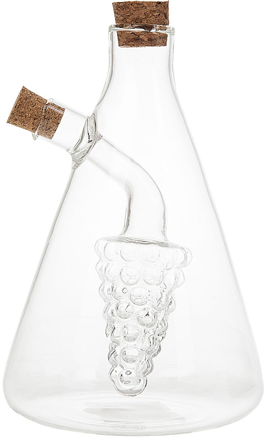 Бутылка для масла и уксуса Best Home Kitchen, 430 мл. 54700295470029Оригинальным дополнением любой кухни и праздничного стола, станет бутылка для масла и уксуса Best Home Kitchen.Бутылка представляет собой 2 сосуда, находящиеся один в другом, благодаря этому при заполнени контрасными по цвету жидкостями,ее можно считать предметом декора, а не просто кухонным инвентарем.