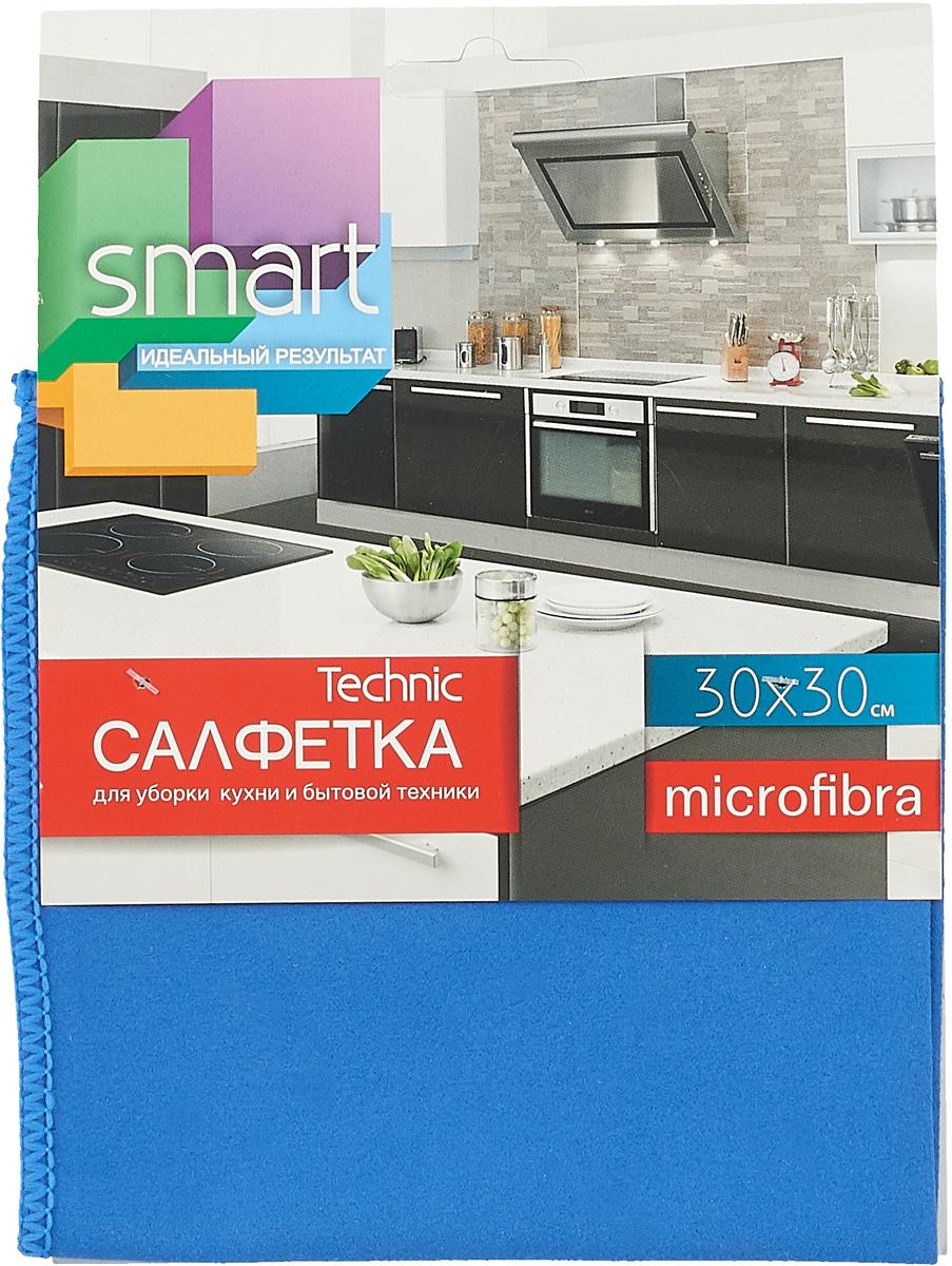Салфетка для ухода за бытовой техникой Smart Technic, из микрофибры, 30 х 30 см