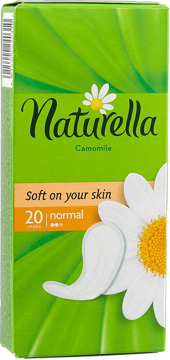 Naturella Женские гигиенические прокладки на каждый день Camomile Normal Single 20шт