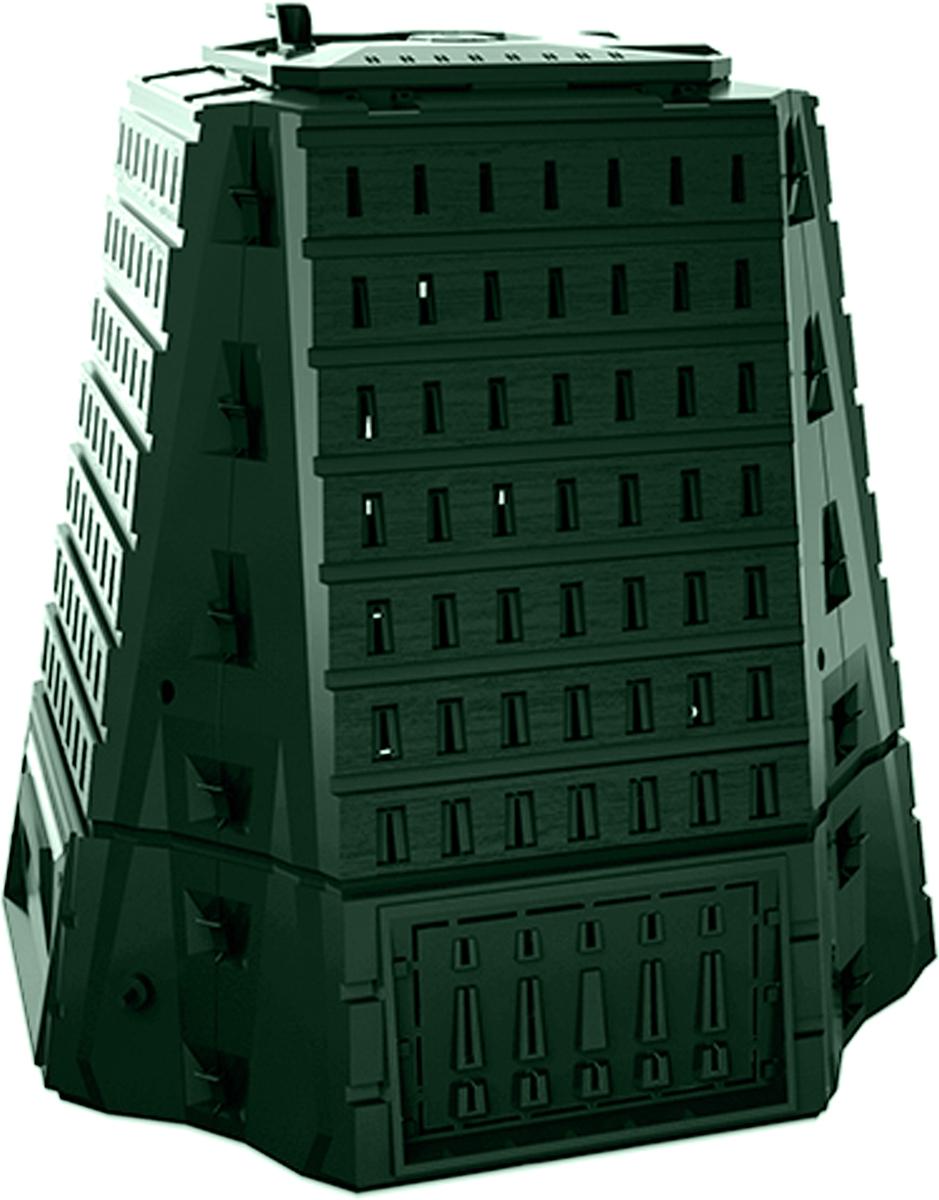 Компостер садовый Prosperplast Biocompo, цвет: зеленый, 900 л
