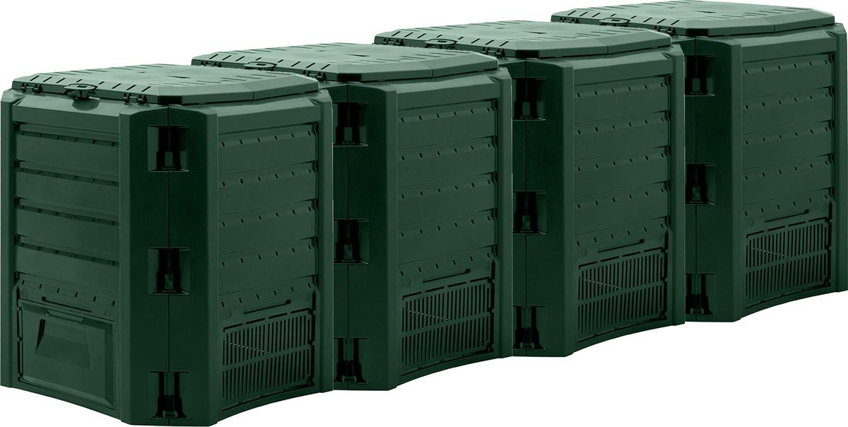 Компостер садовый Prosperplast Module, цвет: зеленый, 1600 л