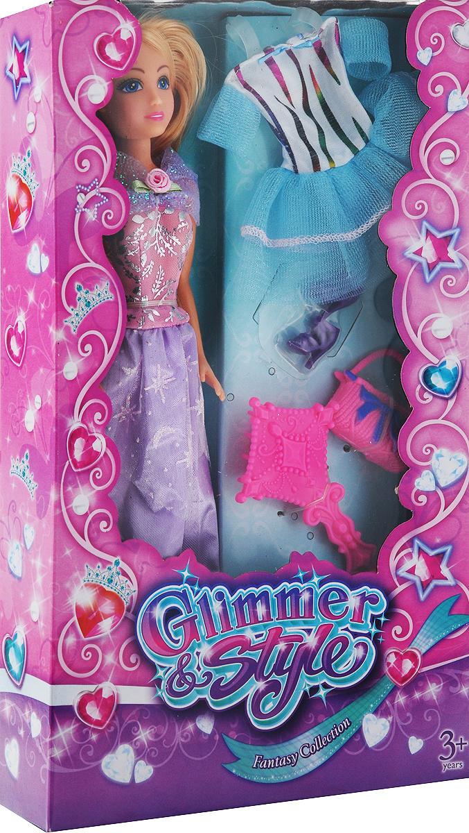FunvilleКукла Glimmer& Styleцвет голубой
