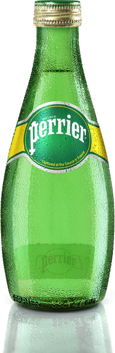 Perrier вода минеральная газированная гидрокарбонатно-кальциевая, 0,33 л макаронные изделия bioitalia перья крупные 500г