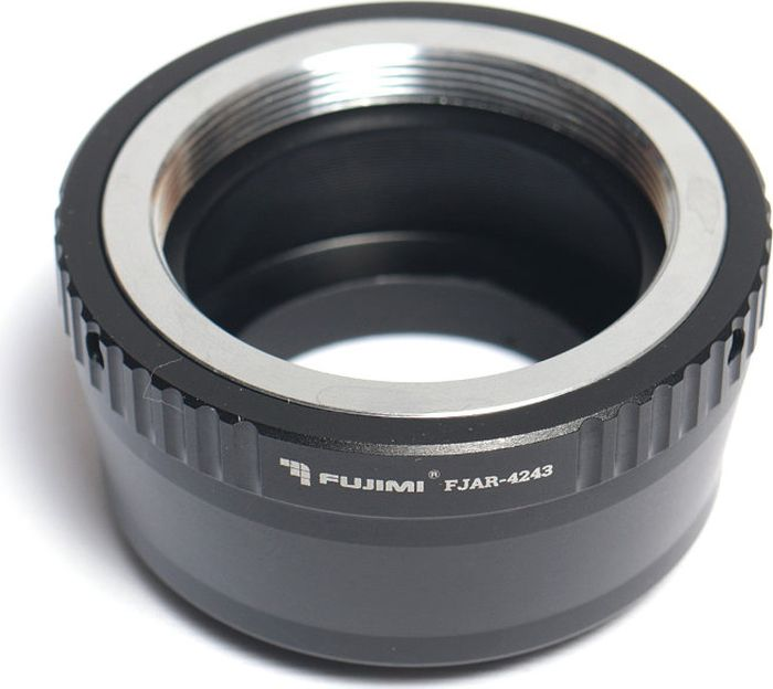 Fujimi FJAR-4243, Gray Metallic переходник для объектива Рanasonic/Olympus