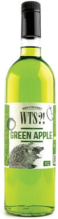 Фото - WTS?! Сироп Зеленое яблоко, 1 л wts сироп арбуз 1 л
