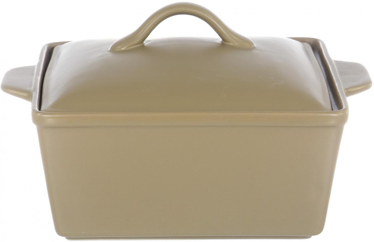 """Кастрюля """"Хуторянка"""" с крышкой выполнена из керамики, станет незаменимым помощником у вас на кухне.  Подходит для использования в микроволновой, конвекционной печи и духовке. Подходит для хранения продуктов в холодильнике и морозильной камере. Устойчива к температурам от -30°С до +220°С. Можно мыть в посудомоечной машине. Идеально подходит для сервировки стола."""