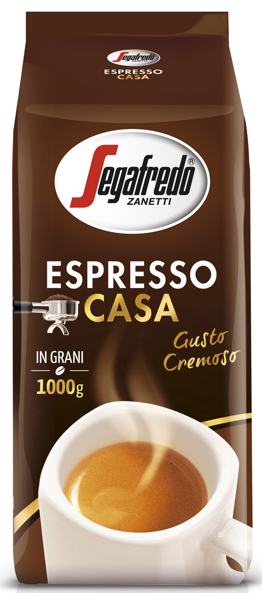 Segafredo Espresso Casa кофе в зернах, 1 кг кофе зерновой carraro crema espresso 1 кг