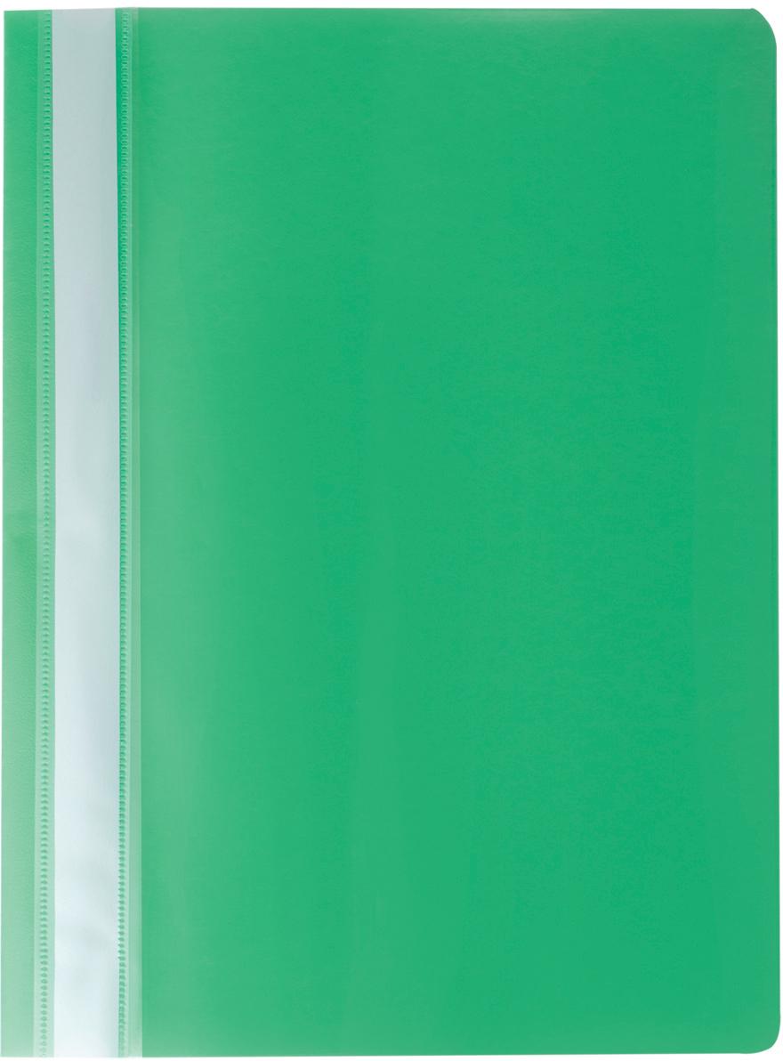 Brauberg Папка-скоросшиватель А4 цвет зеленый 220414220414Классический мягкий пластиковый скоросшиватель. Предельно простой механизм подшивки: металлические усики и пластиковая планка для надежной фиксации документов. Снабжен прозрачным верхним листом. Для идентификации имеет сменный бумажный корешок.