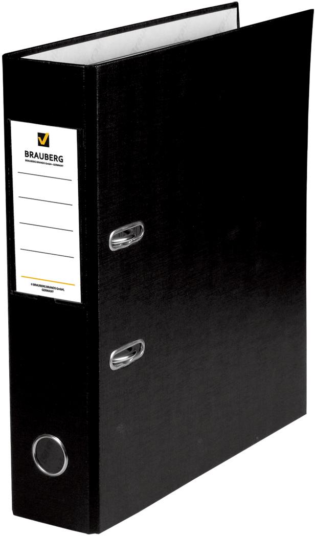 Brauberg Папка-регистратор цвет черный 220891 - Папки
