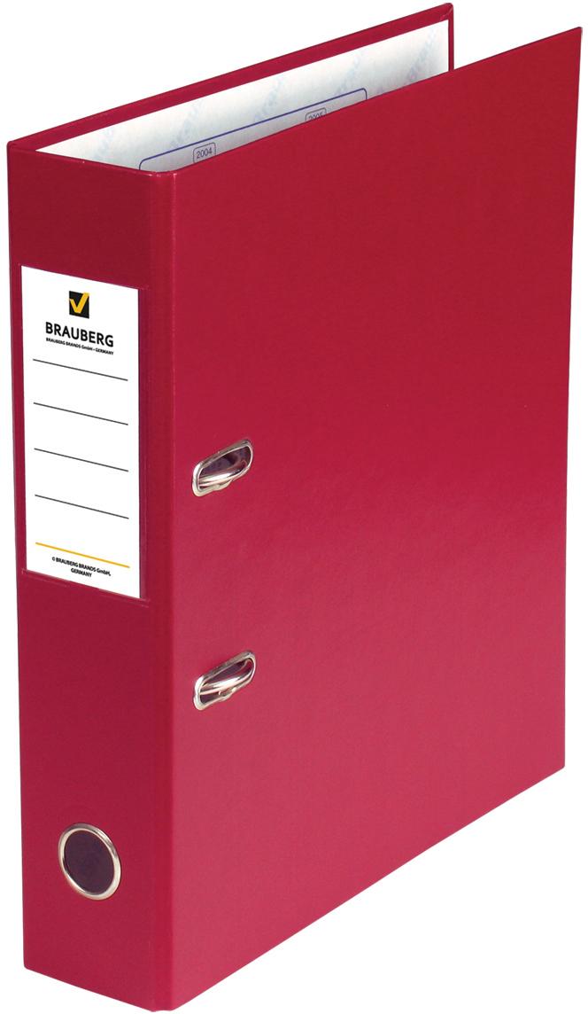 Brauberg Папка-регистратор цвет красный 220892 - Папки