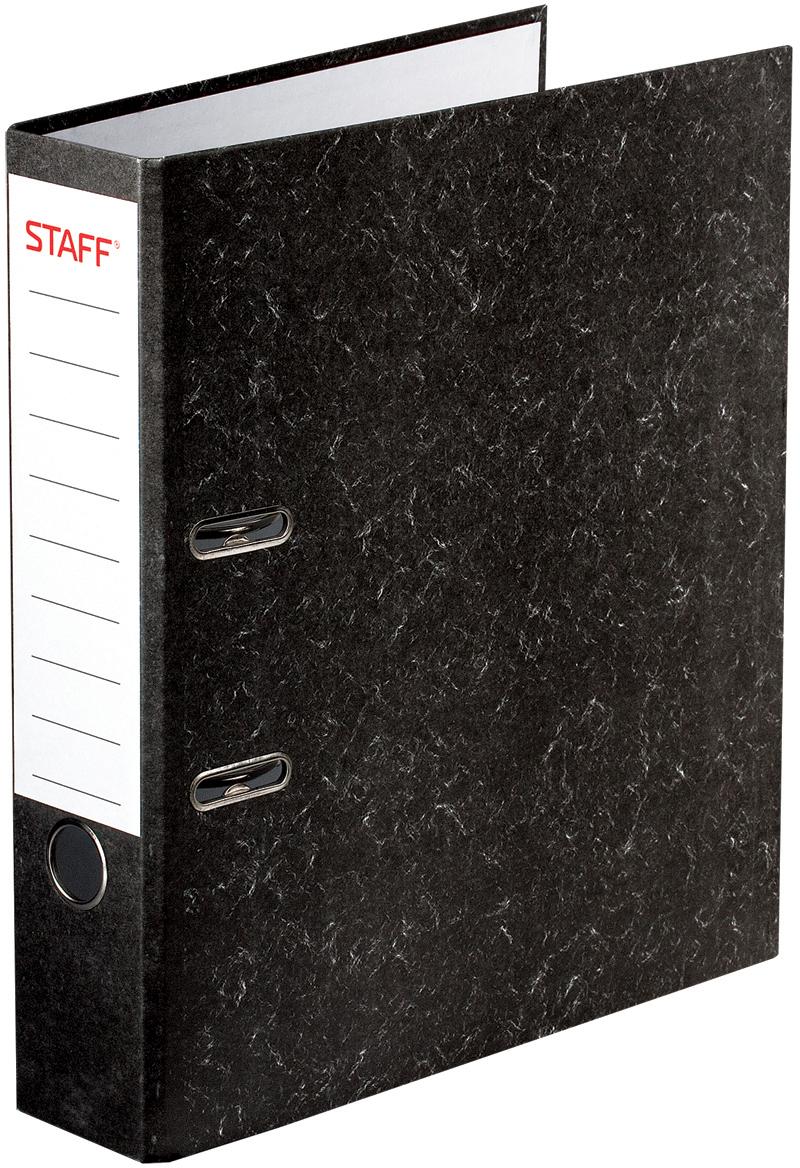 Staff Папка-регистратор цвет черный 224615 laser staff