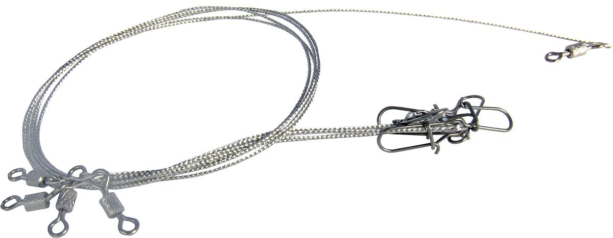 Поводок Точка Лова, ферронихромовый, 4 шт. ПФХ-20-20