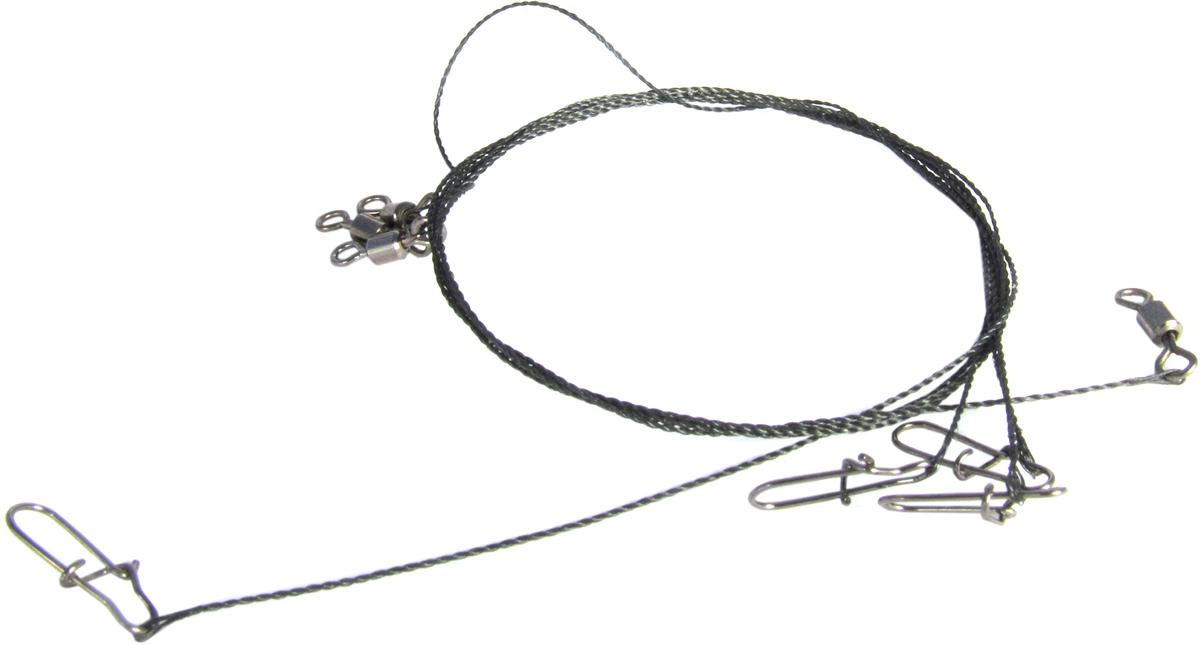 Поводок Точка Лова, вольфрамовый, 4 шт. ПВ-10-25ТЛ