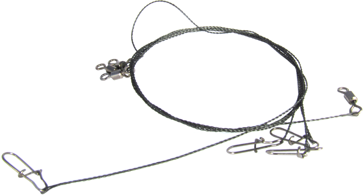 Поводок Точка Лова, вольфрамовый, 4 шт. ПВ-12-20ТЛ