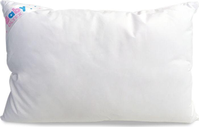 OL-Tex Подушка детская Baby цвет белый 40 х 60 см