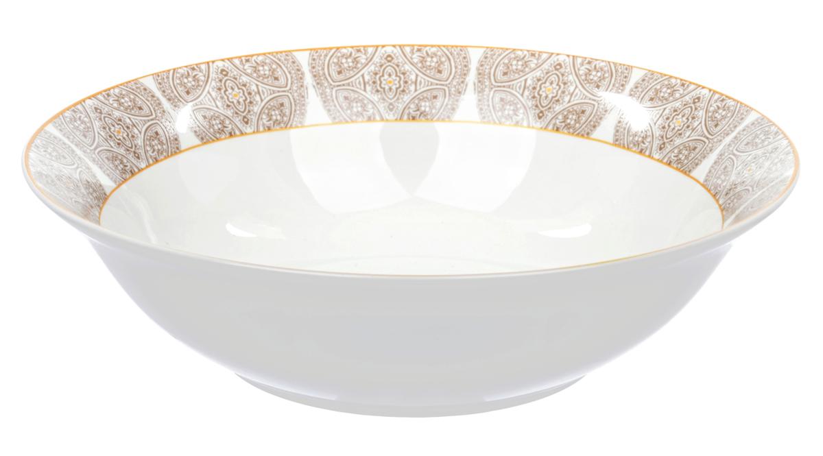 Салатник Dasen Бежевая классика, диаметр 23 смDNNB0018-7