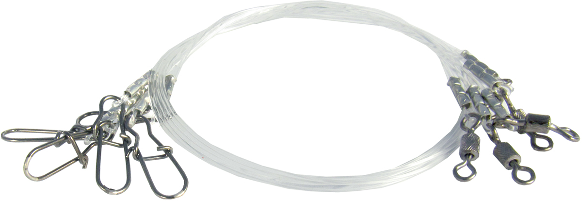 Поводок Точка Лова, флюорокарбоновый, 5 шт. ПФ-7-25ТЛ