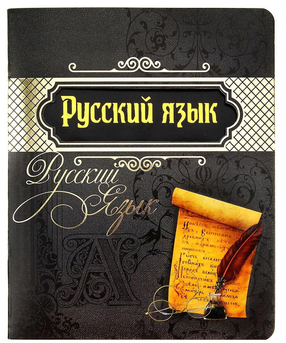 Тетрадь Русский язык 48 листов в линейку 193259, NoName