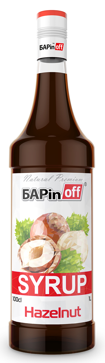 Barinoff Сироп Лесной орех, 1 л